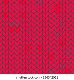 vector seamless knitted background