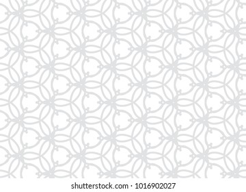 Vector seamless lacing pattern. Repeating geometric shapes. Striped tiles. Modern stylish abstract design.
