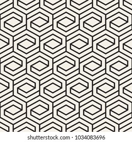 Vector seamless lattice pattern. Modern stylish texture with monochrome trellis. Repeating geometric grid. Simple design background.