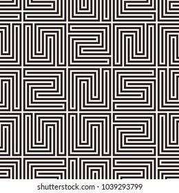 Vector seamless lattice pattern. Modern stylish texture with monochrome trellis. Repeating geometric grid. Simple design background.