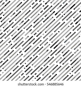 Vector Seamless Parallel Diagonal Overlapping Color Lines Pattern Background