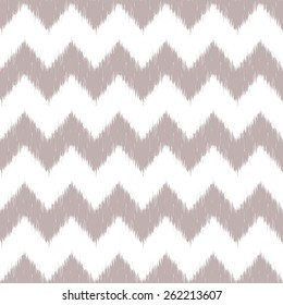 Vector seamless patter design with traditional ikat repeating ornaments