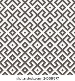 Vector seamless pattern. Arabic geometric texture. Islamic Art