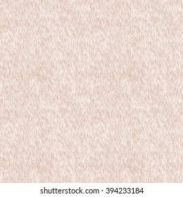 Vector Seamless Pattern. Beige Fur Background. Bear, Dog, Cat Skin. Digital Illustration.