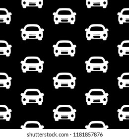 Vector seamless pattern cars