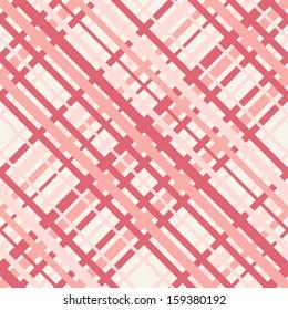 Vector seamless pattern. Checkered texture. Pastel stylish texture of tartan