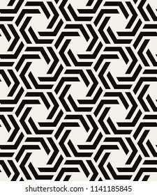 Vector seamless pattern with chevron. Modern geometric texture. Repeating abstract background. Polygonal grid with bold elements.