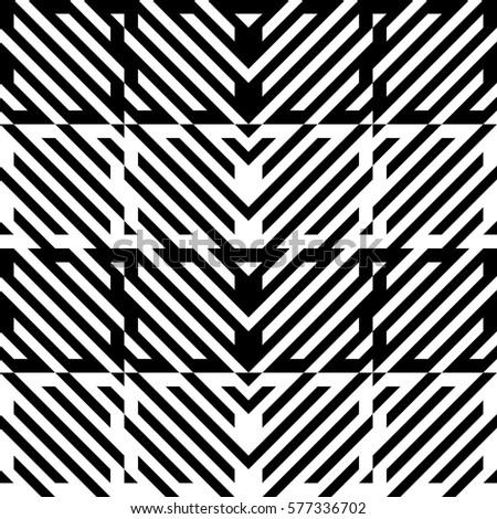 Vector Seamless Pattern Decorative Element Design Stock Vektorgrafik
