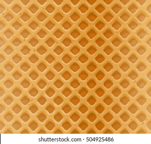 Vector seamless pattern delicious waffles