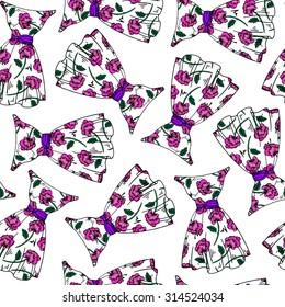 1c877467bd Seamless Pattern Beautiful Retro Corsets Perfume Stock Vector ...