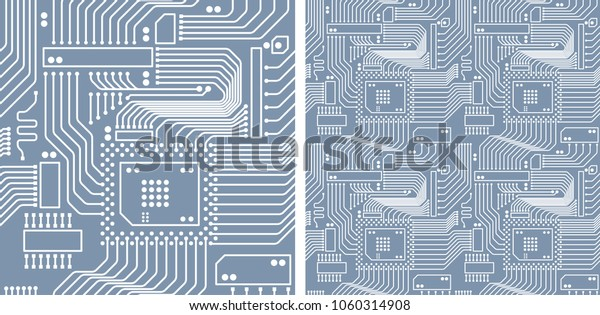Vector Seamless Pattern Geometric Abstract Background Stock