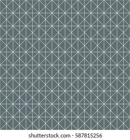 Vector Seamless pattern geometric intersecting line pattern