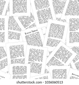 Vector seamless pattern grow old pages.