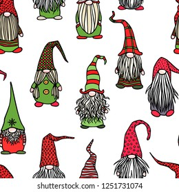 Christmas Gnome Drawing.Christmas Gnome Images Stock Photos Vectors Shutterstock