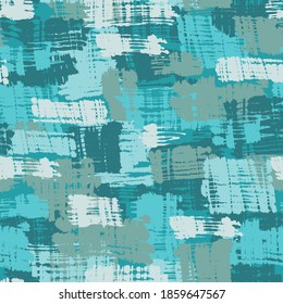 Vector seamless pattern with hand drawn hatching brush strokes