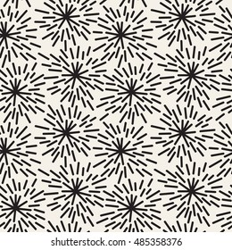 Vector seamless pattern. Hand drawn abstract texture. Stylish graphical background. Freehand hipster print.