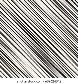 Vector seamless pattern. Irregular abstract striped texture with a diagonal thin hatching.