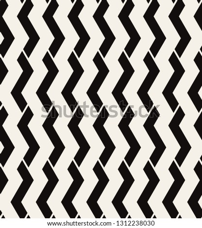 Vector Seamless Pattern Modern Geometric Texture Stock