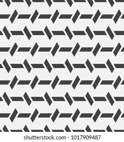 Vector seamless pattern. Modern stylish texture. Repetition of geometric tiles.