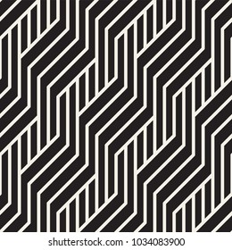 Vector seamless pattern. Modern stylish abstract texture. Repeating geometric