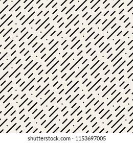 Vector seamless pattern. Modern stylish texture. Striped geometric tiles. Minimalistic linear diagonal background.