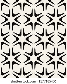 Vector seamless pattern. Modern stylish texture. Repeating geometric tiles with smooth elements. Can be used as swatch for illustrator.