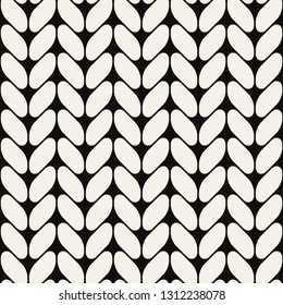 Vector seamless pattern. Modern stylish texture. Repeating geometric tiles with grid. Diagonal disposed smooth elements. Can be used as swatch for illustrator.