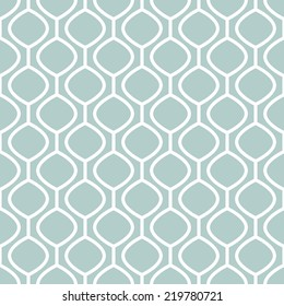 Vector seamless pattern. Modern stylish texture. Repeating abstract background