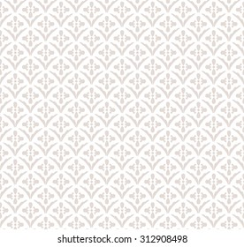 Vector seamless pattern. Modern stylish texture. Repeating geometric tiles. Stylized hexagonal flowers from striped petals