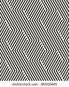 Vector seamless pattern. Modern stylish texture. Repeating geometric background. Striped hexagonal grid. Minimalistic graphic design