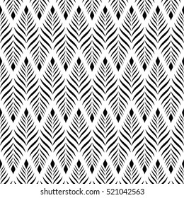 Vector seamless pattern. Modern stylish texture with monochrome trellis. Repeating geometric triangular grid. Simple graphic design. Trendy hipster sacred geometry.background vector.