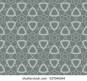 Фотообои Vector seamless pattern. Modern stylish texture. Repeating abstract background with chaotic strokes. Trendy hipster print.