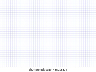 Vector seamless pattern paper exercise book in a cell. Texture notebook sheet. Pattern in a cage.