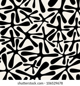 vector seamless pattern with spots