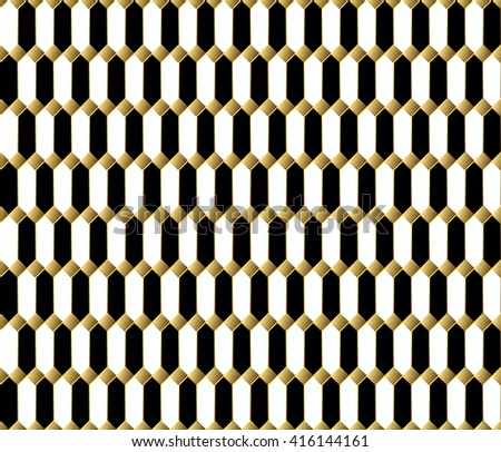 134cc33f Stylish textile print with geometric eastern design. Ethnic fabric  background. Modern fabric swatch. Seamless oriental background. Black white  and gold ...