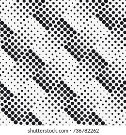 Vector seamless pattern. Stylish texture with circles. Geometric lattice pattern.