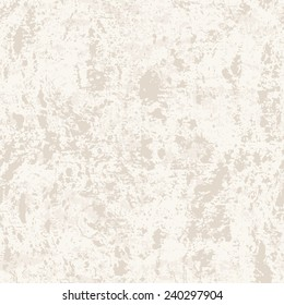 Vector seamless pattern. Subtle abstract background. Stylish grunge texture. Monochrome light texture of old concrete wall