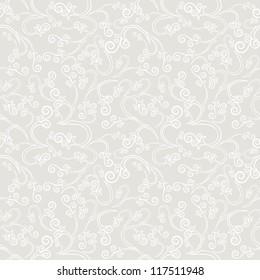 Vector seamless pattern. Vintage background
