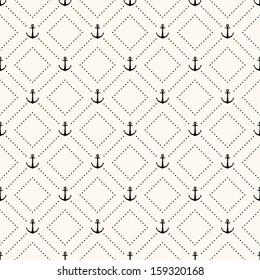 Vector seamless retro pattern