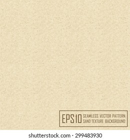 Vector  seamless sand texture background with natural fibers and stones