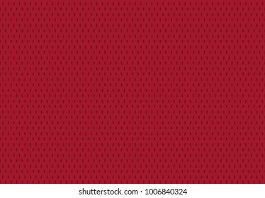 Vector Seamless sports wear Irregular Rounded Lines Halftone Transition Abstract Background Pattern red color.