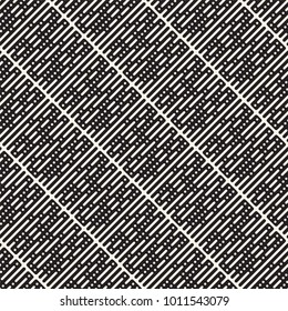 Vector seamless stripes pattern. Modern stylish texture with monochrome trellis. Repeating geometric grid. Simple lattice graphic design.