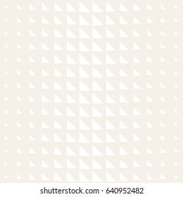 Vector seamless subtle pattern. Modern stylish texture. Repeating geometric tiles. Monochrome halftone grid. Simple shapes lattice