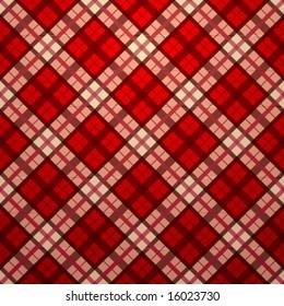 Vector seamless tartan texture
