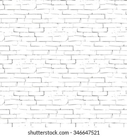 Vector seamless texture of brick wall