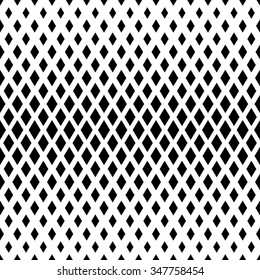 Vector seamless texture. Modern abstract background. Geometric repeating pattern with diamonds of various sizes.