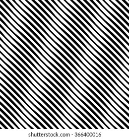 Vector seamless texture. Modern geometric background. Monochrome pattern of uneven lines located diagonally.