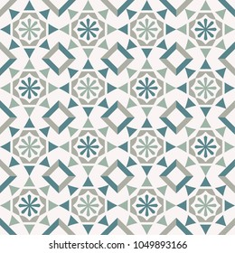 Vector seamless tile pattern. Abstract background. Ceramic tiles.