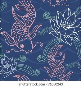 Vector Seamless Tile (pattern, wallpaper, background)