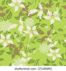 Vector Seamples Floral Flower Texture